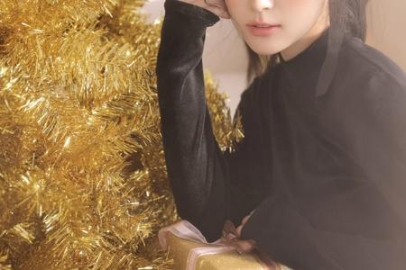 圣诞节美女唯美动人性感私房写真