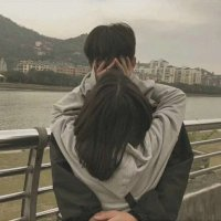 原宿风头像情侣双人 真人复古情侣头像原宿风