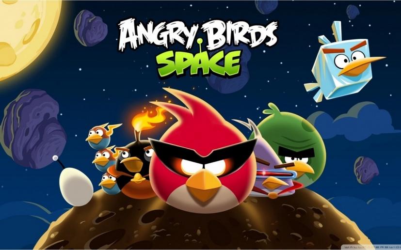 经典游戏愤怒的小鸟高清壁纸大全