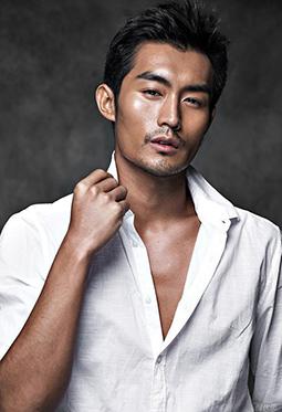国内男模南伏龙时尚衬衫写真照片