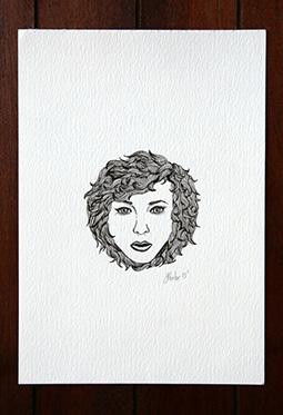 精选创意黑白手绘插画图片大全