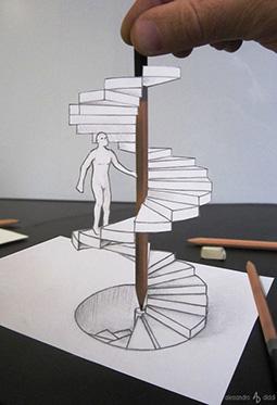 跃然纸上的3D手绘艺术图片大全
