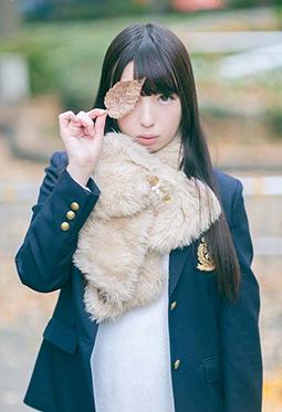 日本清纯美女福田もかcosplay写真