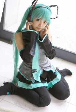 日系萌妹子cosplay高清写真图片