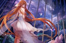 漂亮性感的动漫美女亚丝娜壁纸大全