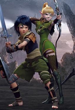 动作MMORPG游戏龙之谷高清壁纸图片