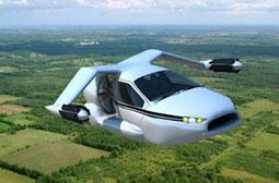 世界首款飞行汽车创意产品图片精选