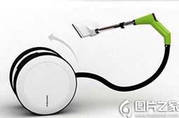 精选高科技创意产品智能吸尘器图片