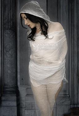 欧美绝色性感美女新概念人体艺术摄影图片