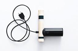 创意设计自制的战斧吹风机图片