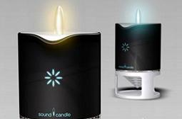 与众不同的蜡烛式音箱创意图片大全