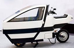 德国研制的创意单座摩托车图片大全