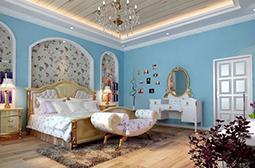 清新唯美的田园风卧室设计图片大全