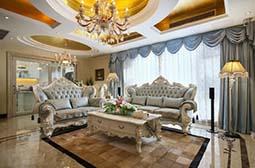 奢华浪漫的欧式别墅装修设计图片