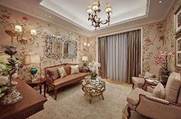 田园风格的奢华欧式别墅装修图片