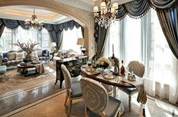 精选时尚浪漫的法式别墅装修效果图