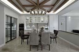现代时尚美式别墅装修设计效果图