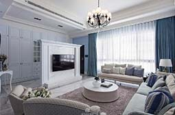 清新舒适的法式别墅设计图片大全
