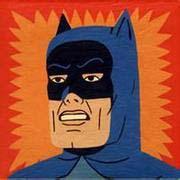 趣味恶搞卡通系列超人头像图片