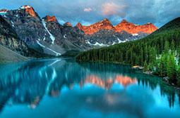 加拿大阿尔伯塔高清摄影风景图片
