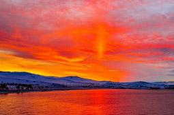 唯美梦幻的贝加尔湖高清风景图片