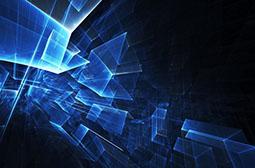 炫酷高科技蓝色广告背景图片素材