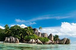 塞舌尔海椰子岛高清风景桌面壁纸