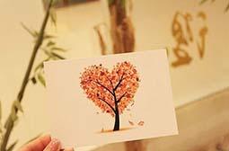 唯美浪漫的手工明信片意境图片壁纸